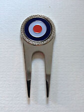 Royal Air Force Golf Divot Tool And Ball Marker