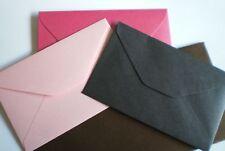 Stardream C6 x 20 Onyx Black METALLIC Envelopes 114 x 162mm Quality Metallic