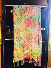 """LillyPulitzer """"the Lilly Scarf"""".  Style : 10126. Let's Cha Cha Scarf"""