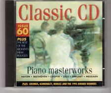 (HM832) Piano Masterworks - Classic CD issue 60 - 1995