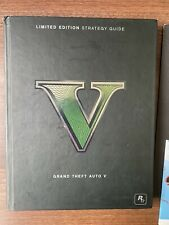 Grand Theft Auto 5 Collector's Edition Strategy Guide VGC Map & Poster Hardback