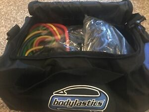 NEW SEALED Bodylastics 31 Piece Exercise Equipment Set. Resistance Bands Anchors