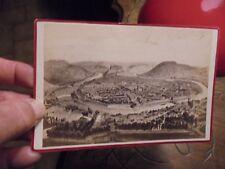 Besançon Tirage Photo d'une Gravure ancienne : Ch Marion Morel & Cie