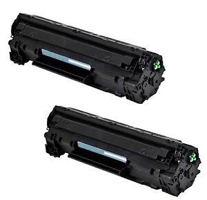 2-Pack/Pk CE285A 85A 285A Toner Cartridge For HP LaserJet P1102 P1102W M1212NF