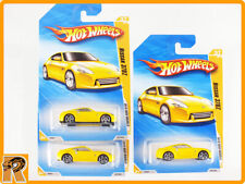 Hot Wheels - Nissan 370Z - Yellow Set of 3 - 2010 New Models -70