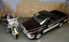 Harley Davidson Dodge Ram Truck 95th Anniversary Road King Motorcycle 1:26 Scale