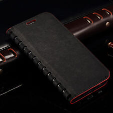 Luxury Book Leather Shockproof Kickstand Wallet Card Case Cover  Apple iPhone