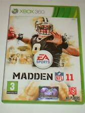 "Madden NFL 11 American Football  Xbox 360 ""FREE UK P&P"""
