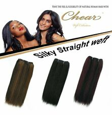 Chear - Human Hair Blend Weave Weft Hair Extensions-Many Colors,Styles & Lengths