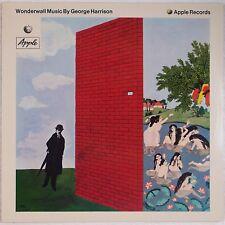 GEORGE HARRISON: Wonderwall GERMANY Apple A-1 / B-1 NEAR MINT Vinyl LP