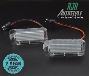 FORD FOCUS MK2.5 LED NUMBER PLATE LIGHTS REPLACEMENT ZS ST RS (RJH Autostyle)
