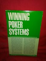 Winning Poker Systems: Norman Zadeh-1974 1st Ed Card Games/How-To, Pb