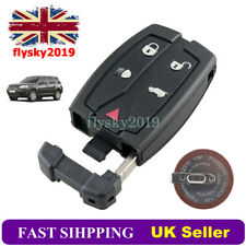 5 Button Remote Key Fob Shell + Battery For Land Rover Freelander 2 2006 - 2014