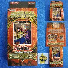 Rare! Yugioh Retro Pack 2 box Factory Sealed 3x RP02 Booster packs + secret card