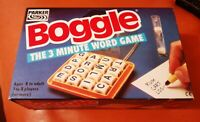 VINTAGE PARKER BOGGLE 1985 COMPLETE NICE CONDITION FOR AGE 3 MINUTE WORD GAME