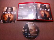 Sony PlayStation 3 PS3 CIB Complete Tested FEAR 2 Project Origin Ships Fast