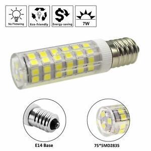 2pcs E14 Bulbs 7W LED Light Bulb for Kitchen Range Hood Chimmey Fridge Cooker UK