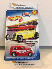 Anglia Panel Truck * RED * ISCA Promo * Hot Wheels w/ Real Riders * H41