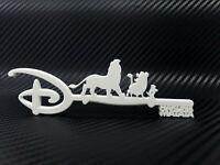 "Disney Lion King Key ""Hakuna Matata"" Timon & Pumbaa 3D Print Custom DIY - White"