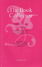 BOOKS ON COLLECTING THE BOOK COLLECTOR 2007 AUTUMN NICHOLAS BARKER