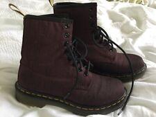 amazing Doc Dr Martens Vegan Castel boots, UK 4