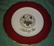 Vtg Syracuse China Mullberry Inn Savannah GA Restaurant Ware Dinner Plate Gold