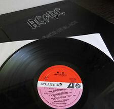 "LP: AC/DC "" Back In Black"""