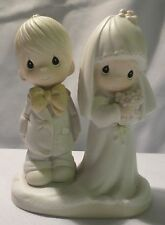 Precious Moments 1979 The Lord Bless And Keep You Figurine Cake Topper E-3114