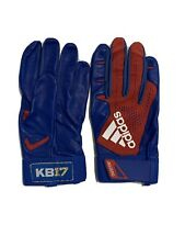 Kris Bryant Game Issued Batting Gloves. Adidas Player Issued PE Chicago Cubs