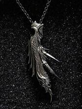 FINAL FANTASY VII Black Silver pendant SEPHIROTH Square Enix