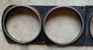 Jensen Interceptor Mark 3 Aluminum Headlamp Finisher Original Both Sides 2 Piece