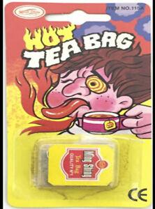 BRAND NEW JOKE / PRANK -  Hot Tea Bag
