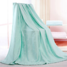 Blanket Towel Quilt Luxury China Brand Cool Bamboo Fiber Top Sheet for Summer
