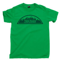 Twin Peaks Sheriff Department T Shirt Bang Bang Bar Double R Diner Owl Cave Tee