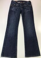 LUCKY BRAND Women's Size 2/26 Jeans Lil Atlantic LONG INSEAM Bootcut Dungarees