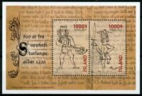 Iceland Historical Events Stamps 2020 MNH Age of Sturlungs Era 800 Years 1v M/S