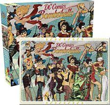 DC Comics Bombshells 1000 piece jigsaw puzzle  60mm x 510mm   (nm)
