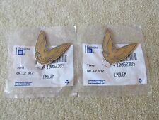 * NOS 1987-91 Pontiac Firebird Trans Am GTA Sail Panel Bird Emblem GM 10052385