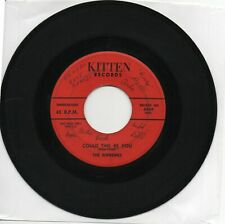 The Supremes  Autographed 45  Could This Be You  on Kitten Original Doo Wop 45
