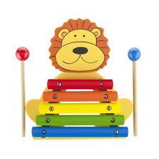 ORANGE Tree in legno Leone Xilofono | giocattolo Xilofono | Legno Xilofono per bambini