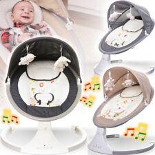 PREMIUM Babyschaukel + USB Musik Baby Wippe Wiege Liege Spielbogen Schaukel Sitz