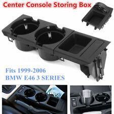 Front Center Console Drink / Cup Holder Coin Box For 1999-06 BMW E46 3 SERIES