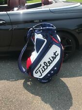 Titleist Folds of Honor limited edition 2018 staff golf bag red white blue USA