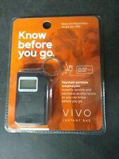 Police Alcohol Breathalyzer Digital Breath Analyzer Tester LCD Keychain (T66)