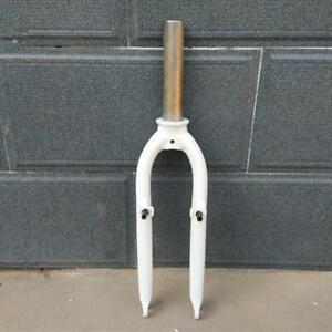 20 inch BMX Folding Bicycle Front Fork Aluminum Alloy V Brake Bike Hard Forks