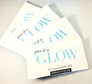 Rodan + Fields Give it a Glow Redefine Product Sample Packs 4 day Supply (11 ct)