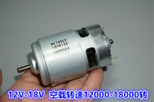 High-speed RC motor replacement Mabuchi to RS-775WC-9511 775WC-A09