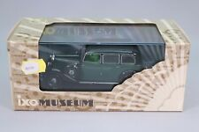 Ze576 ixo museum 1/43 mercedes benz 260d (w138) 1936 green/black ref mus025 nb