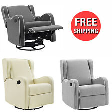 Recliner Swivel Couch Baby Rocker Rocking Chair Nursery Home Furniture Seat