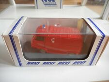 Duvi Renault Estafette Sapeurs Pompiers in Red on 1:43 in Box